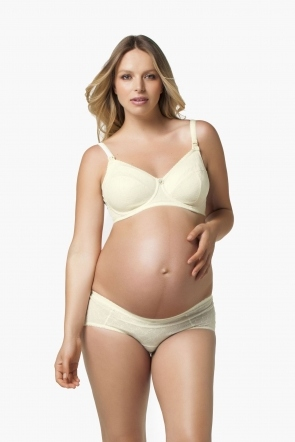 Parfait High Waist Brief (Ivory)