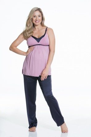 Gateau Soft Modal Nursing Camisole (Rose)
