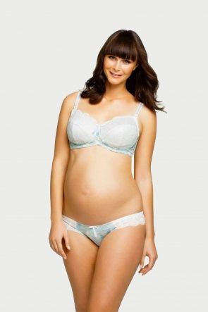 Creme Brulee Maternity Brief