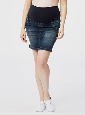 Love2wait Maternity Jeans Skirt