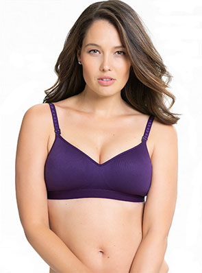Buddy Seamless Wireless T-Shirt Nursing Bra by Charley M