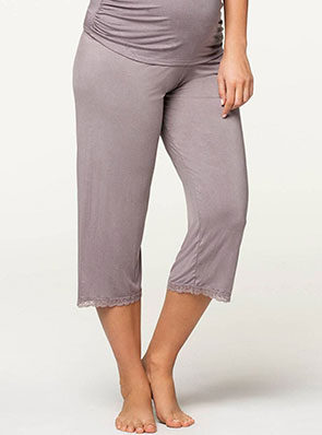 Apple Crumble Soft Modal Maternity Lounge Pant