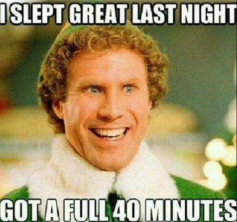40 mins sleep