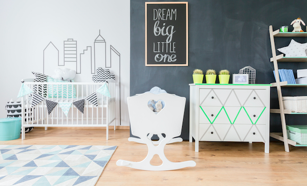 nursery furniture, up cycle nursery furniture