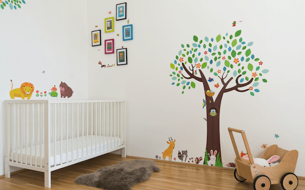 nursery room photo design, nursery photo frame