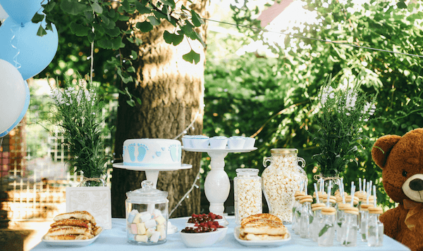 baby shower ideas - sweet treats