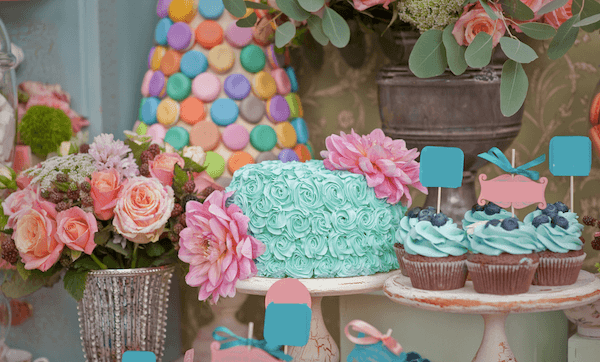 baby shower ideas - sweets