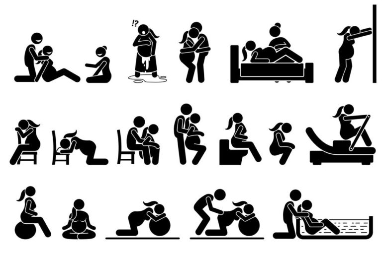 birthing positions