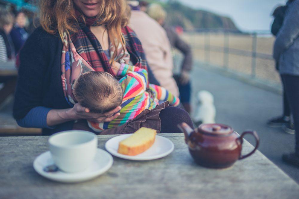 breastfeeding in public