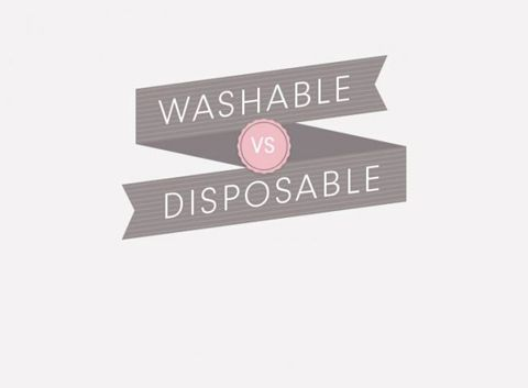 Cupcake Washable vs Disposable