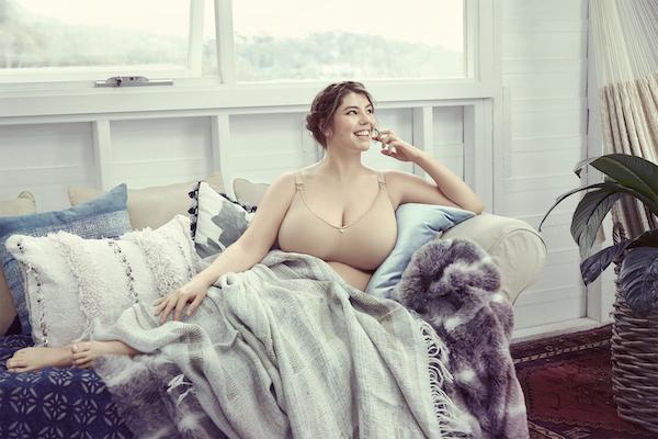 croissant nursing bra