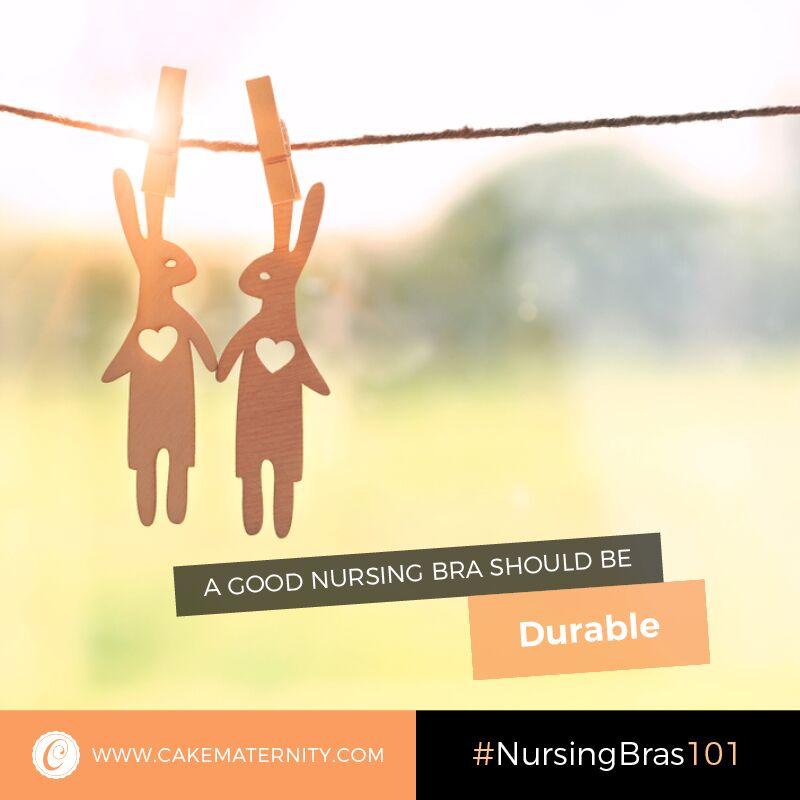 durable nursing bra
