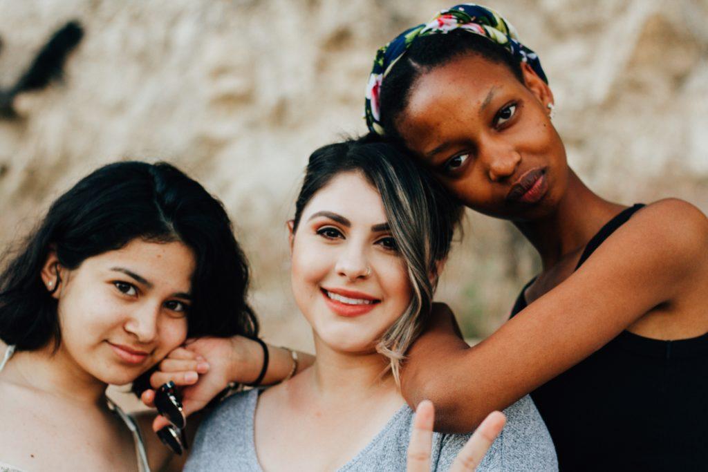 empowering women; via Omar Lopez (Unsplash)