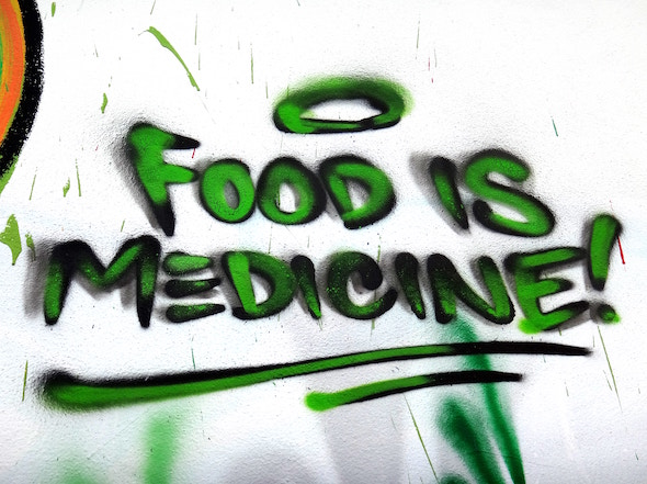 food is medicine ; Image Source: George Pagan III (Unsplash)