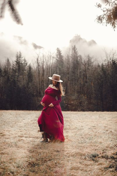 maternity photo shoot by jenny hokbengboun