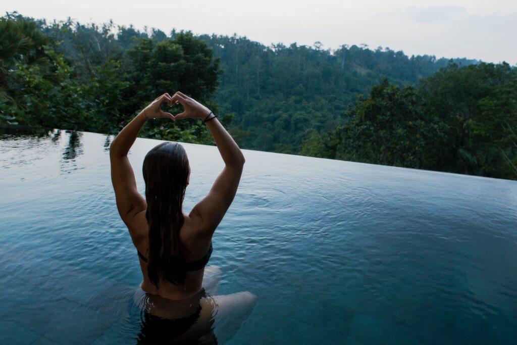 pool meditation