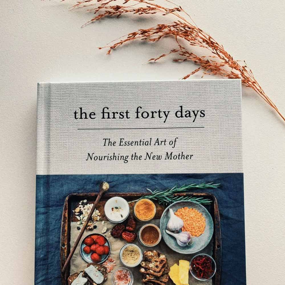 The first forty days book